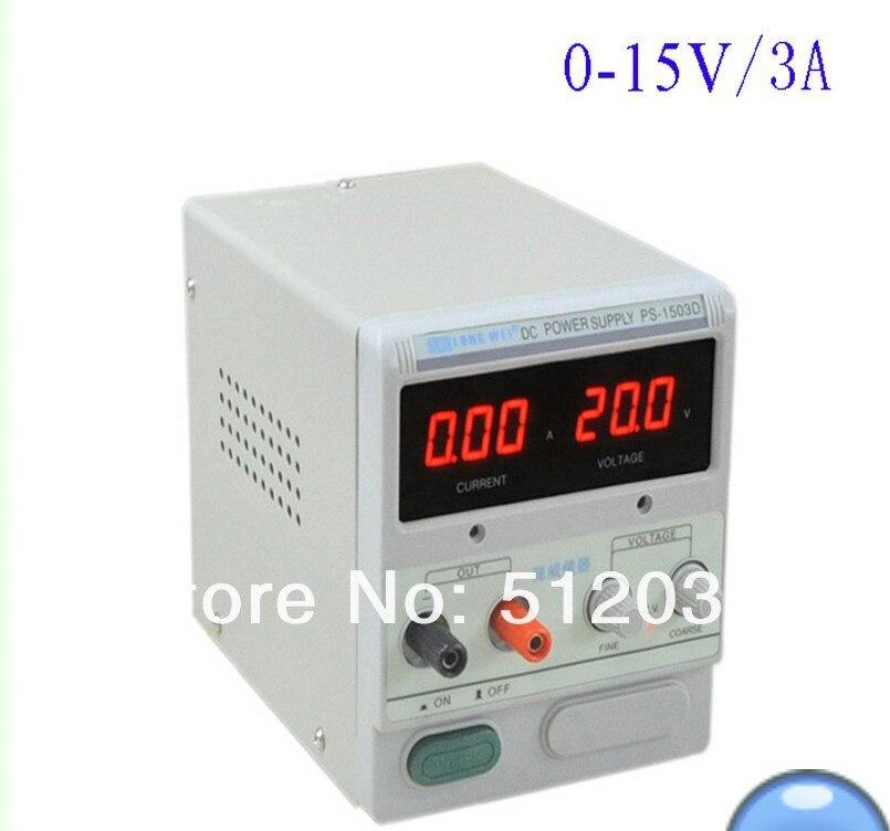 ФОТО DC Power Supply LW PS-1503D (0-15V/3A)