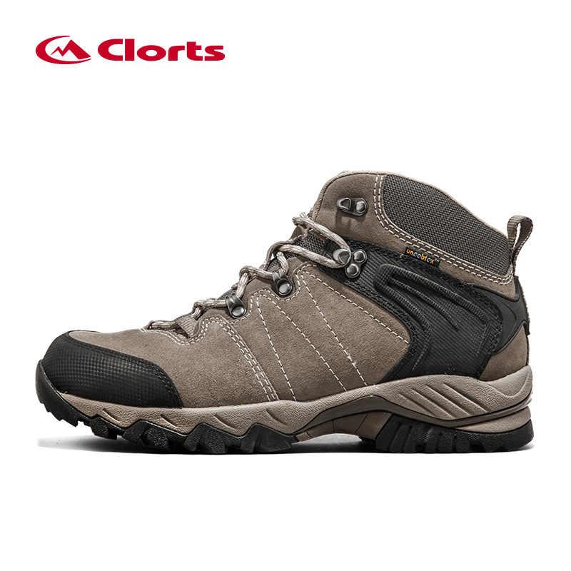 fa869d74 ... Clorts водонепроницаемые походные сапоги мужская обувь для пешего  туризма замшевые кожаные уличные туфли мужские зимние кроссовки ...