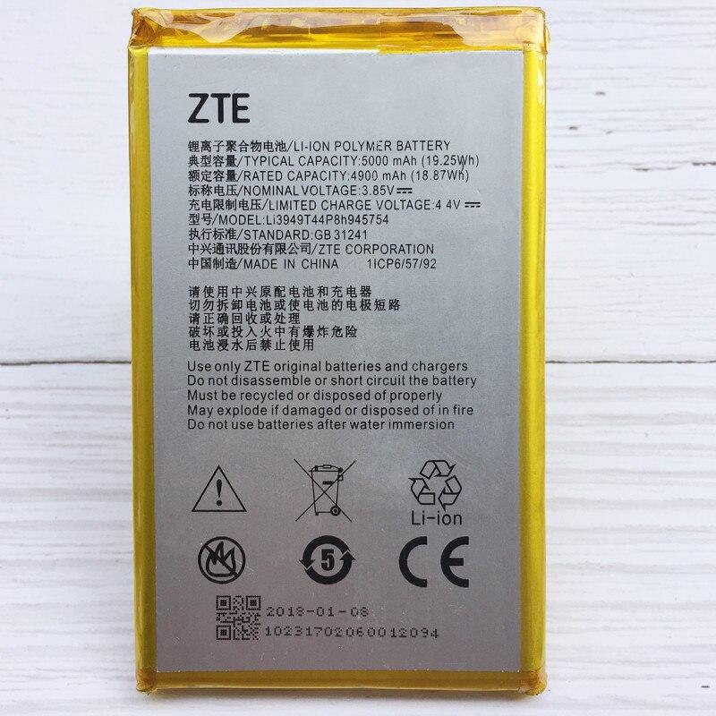 D'origine 5000 mah Li3949T44P8h945754 Batterie Pour ZTE Lame A2 Plus BV0730 A2Plus/ZTE Lame A610 Plus La Batterie