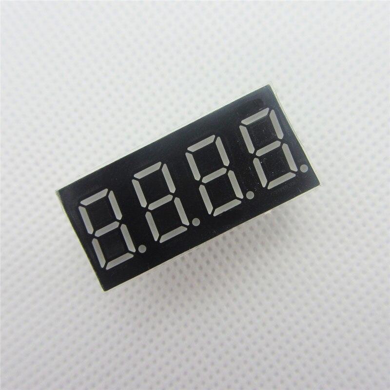 Big Sale!!! 10pcs 4bit 4 Bit Common Cathode Digital Tube 0.36