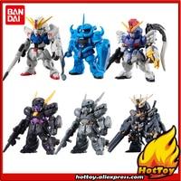 100% Original BANDAI FW GUNDAM CONVERGE vol.12 Toy Figure Full set 6 pieces Gundam Gour DEN'AN GEI from Gundam