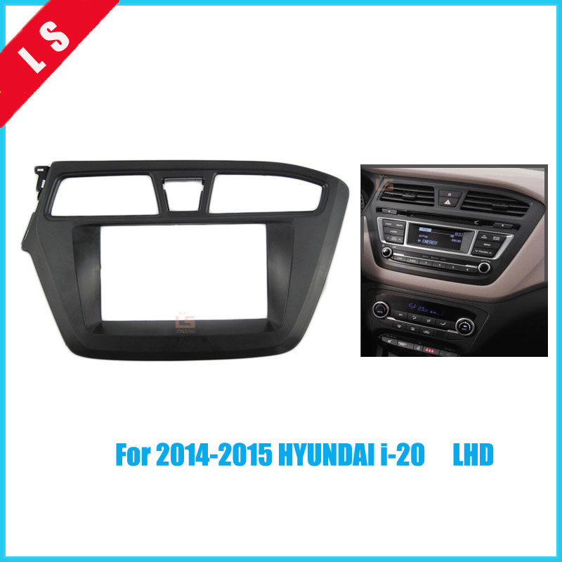 Автомагнитола 2Din для 2014 2015 HYUNDAI I 20 i20 I 20 (левый пептид LHD) Автомобильный Стайлинг Dash установка комплект аудио Рамка двойной 2 din