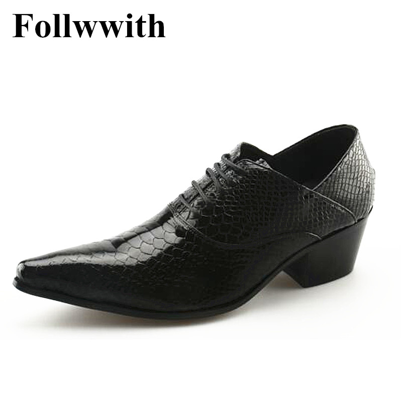 Hot Top Quality Black Alligator Skin Sexy Low Square Heel Lace Up Men Casual Shoes Pointed Toe Sapatos Plus Size 46 black sequins embellished open back lace up top