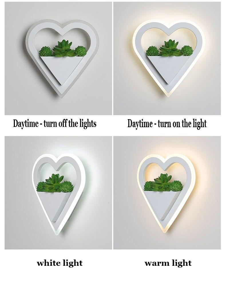 simples e moderno lâmpada cabeceira personalidade criativa