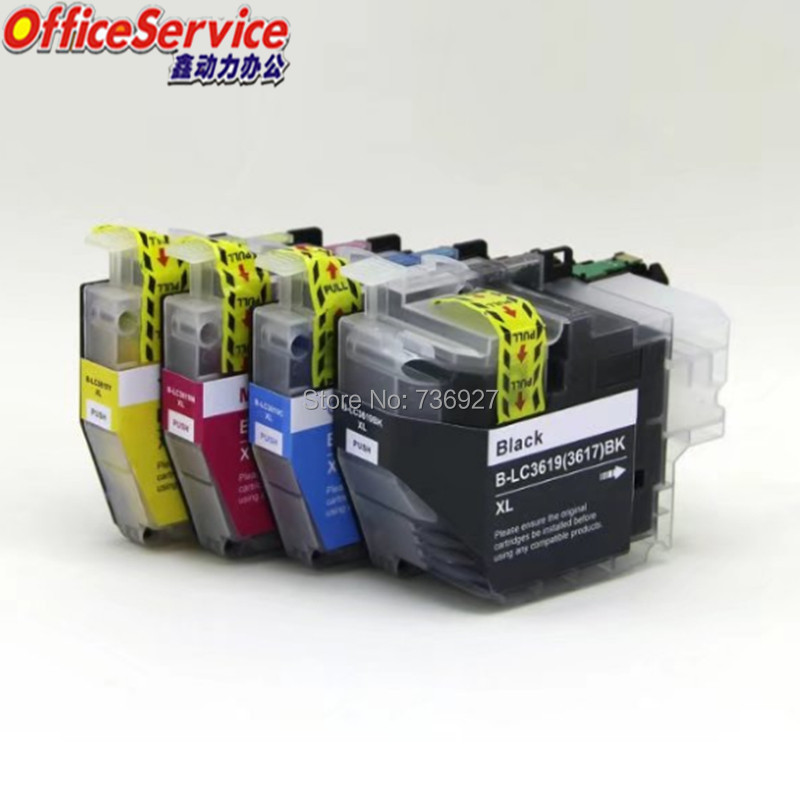 LC3619 LC3617 LC3619XL Compatible  Ink Cartridge For Brother MFC-J2330DW MFC-J2730DW MFC-J3530DW MFC-J3930DW printerLC3619 LC3617 LC3619XL Compatible  Ink Cartridge For Brother MFC-J2330DW MFC-J2730DW MFC-J3530DW MFC-J3930DW printer