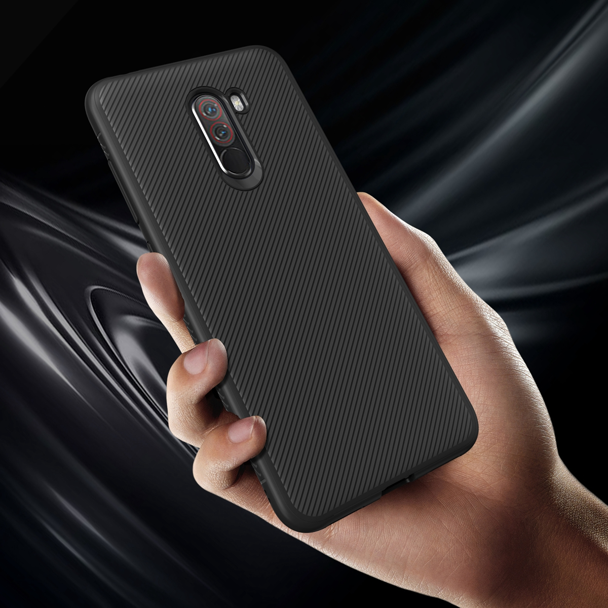 For Xiaomi Pocophone F1 Case Soft Silicone TPU Back Cover Case for Xiaomi Pocophone F1 Poco F1 Case Shockproof phone Cover