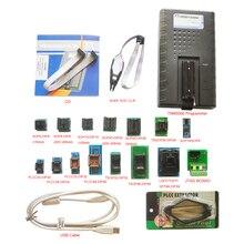 Gravador de memória flash do programador de tnm5000 usb eprom + 15 soquete do computador portátil, suporte io, dispositivo nec, nand, eeprom, microcontrolador, pld, fpga