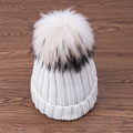 2016 New Fur Velvet Knitted Hats Women Winter Hats For Women Hats Warm Fashion Skullies Beanies Solid Female Caps Drop Shipping