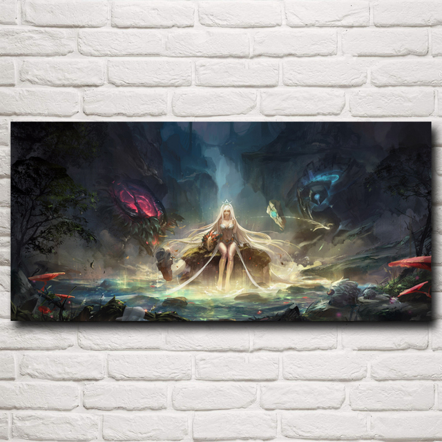 Vi Jinx Ammunition League Of Legends LOL Game Art Silk Poster Home Decor Painting 12×26 16×34 20×43 24×51 32x68Inch Free Shipping