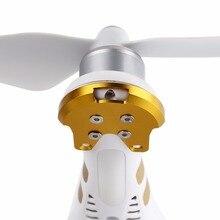 4 шт. крепление двигателя базы Защитная крышка Алюминий пластины по противодействию трещины против crush комплект инструментов для DJI phantom 3 Камера Drone Запчасти