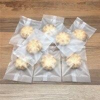 DHL Оптовая Продажа Матовая Ясно Пластик заварены выпечки Упаковка Чехол печенье конфеты посылка Сумки Еда закуски печенье мешок