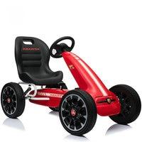 12 INCH EVA Wheel go kart, New Arrival Pedal Go Kart, Children's Four Wheel Pedal Go Cart Sports Toy Cars for Exercise Training