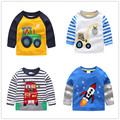 VIDMID boys t-shirt children's t-shirts autumn cartoon kids shirts for boys baby clothes boy t-shirt blouse dinosaur cars thick