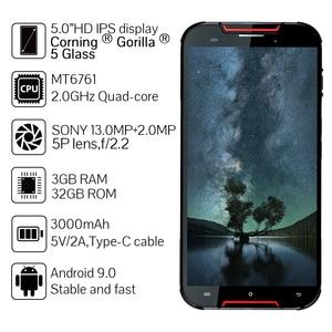 "Image 2 - CUBOT Quest Lite 4G IP68 Móvil Todorerreno para Viajes IP68 Deporte Smartphone Impermeable MT6761 5,0 ""3 GB + 32GB 3000mAh Android 9,0 pastel 4G LTE Dual Cámara 13MP Type C identificación facial"