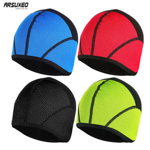 cbfcd3e104b ARSUXEO PT02 Sports Running Caps Winter Warm Up Thermal Fleece Cycling Caps