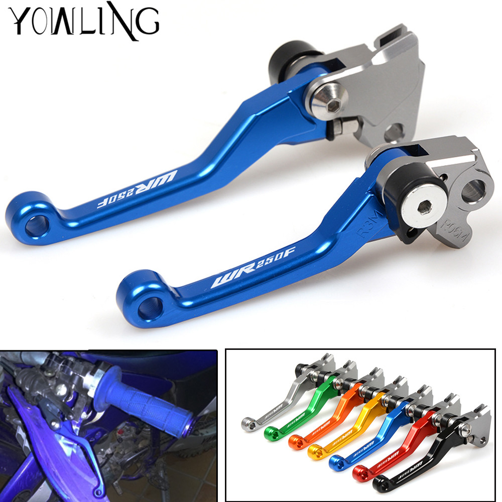 DirtBike Brakes Clutch Levers For Yamaha WR250F WR 250F WR 250 F year 2001 - 2015 Motocross dirt bike Pivot Brake Clutch Levers