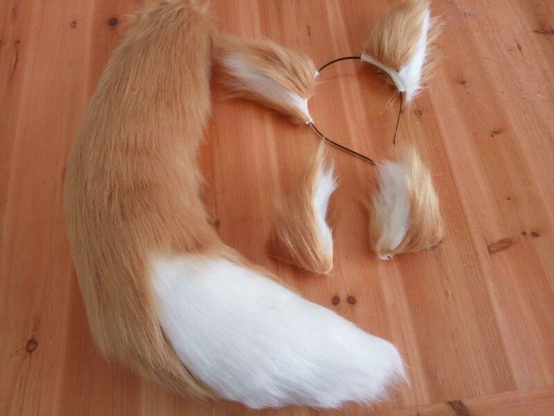 Wolf Cosplay Ears