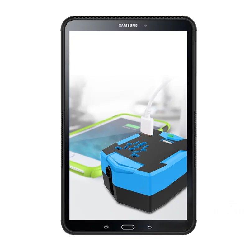 2017 uus kohtuasi Samsung Galaxy Tab A 10.1 2016 T580 T585 Armor - Tahvelarvutite tarvikud - Foto 6