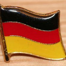 Новая модель и самая популярная немецкая Y немецкая страна значки дешевые металлический флаг из эмали Нагрудный значок