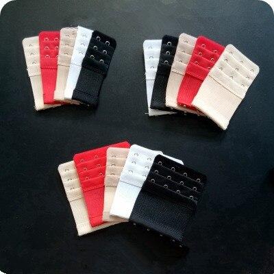 Лифчик крючки на бюстгалтер для регулировки размера 2 ряда 3 ряда 4 ряда Для женщин регулируемые Intimates удлиненный бюстгальтер на крючках бюстгальтер на застежке ремень с удлинением