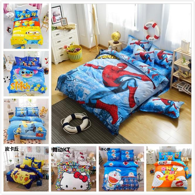 Dibujos animados anime poco amarillo araña acantilado para habitaciones de niños