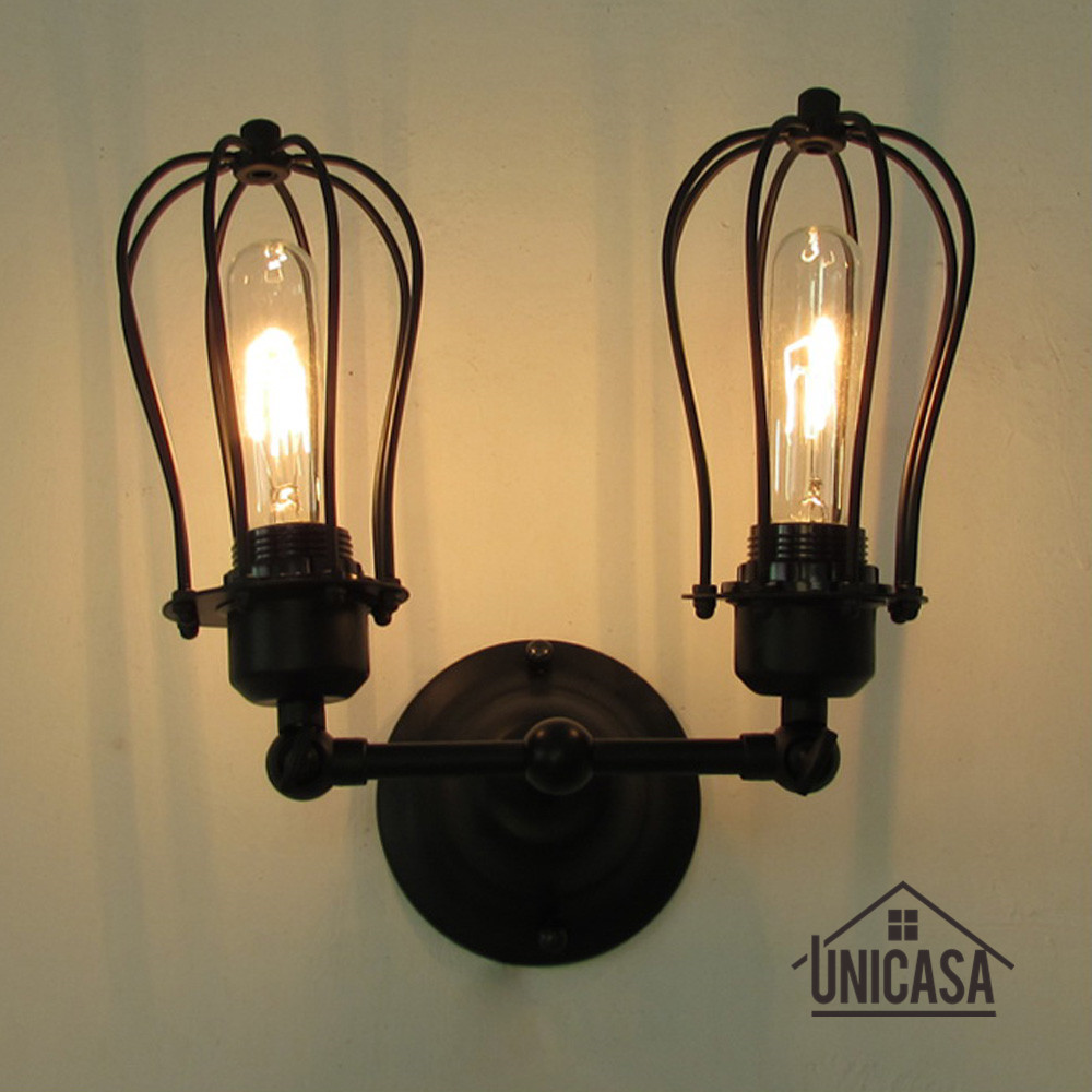 Vintage Swing Wall Lights Kitchen Lobby Wrought Iron Wall Sconces Black Industrial Chandelie Lighting Modern Indoor LED LampVintage Swing Wall Lights Kitchen Lobby Wrought Iron Wall Sconces Black Industrial Chandelie Lighting Modern Indoor LED Lamp