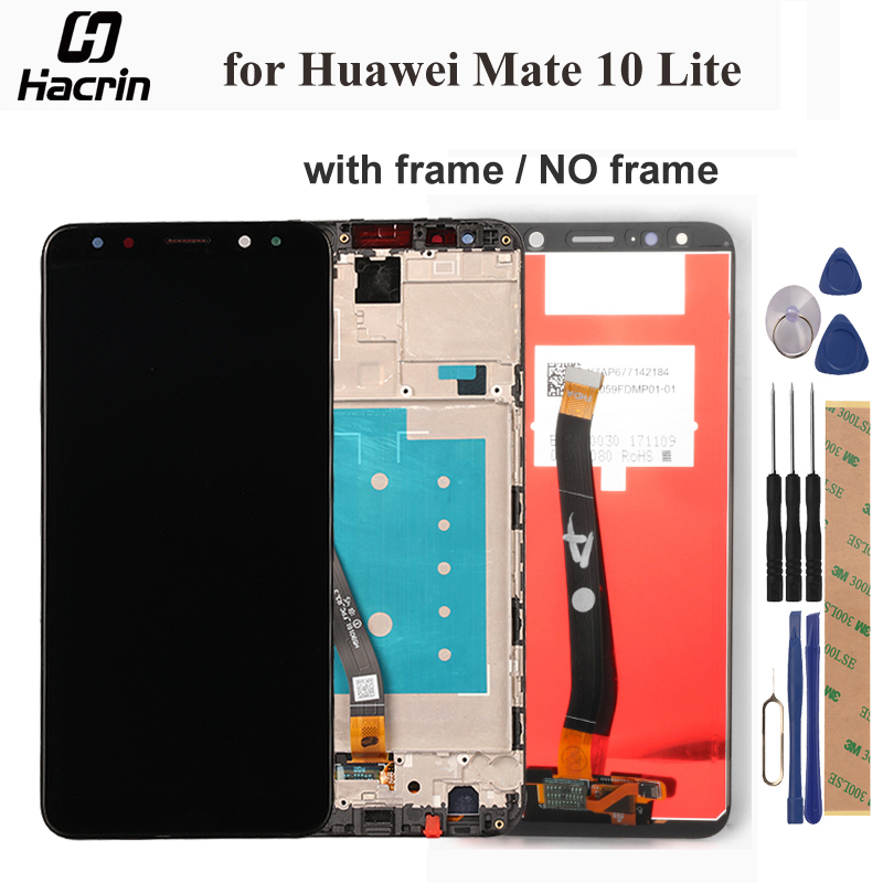for Huawei Mate 10 Lite LCD Display +Touch Screen With Frame for Huawei Mate 10 Lite LCD Screen Digitizer Assembly 5.9inchfor Huawei Mate 10 Lite LCD Display +Touch Screen With Frame for Huawei Mate 10 Lite LCD Screen Digitizer Assembly 5.9inch