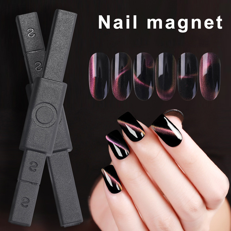 Multi funcation Magnetic Stick Cats Eyes Polish Gel Magnetic Nail Art Stick for Manicure QRD88