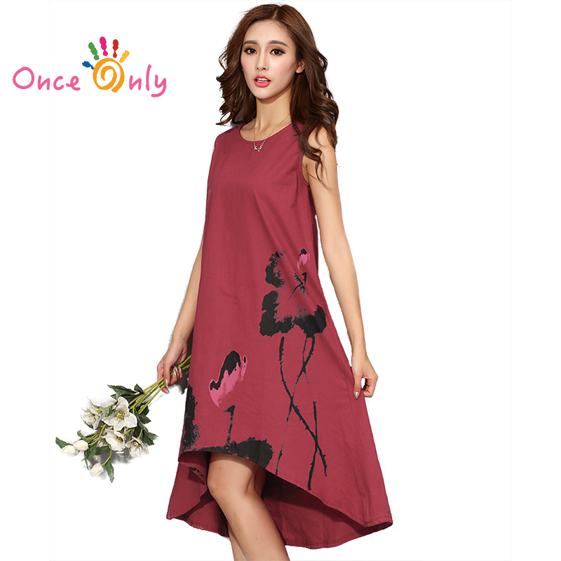 M 6XL Summer Dress 2017 New Vestido Casual Dresses Women ...