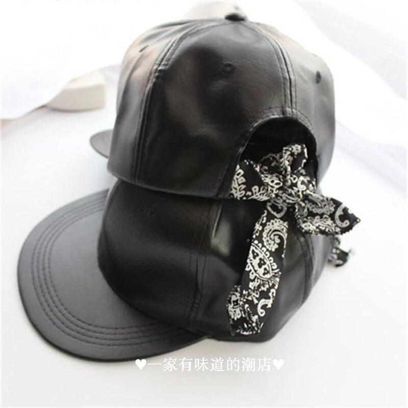 Prix pour EXO Oh Se Hun BaekHyun BTS Suga JIMIN obtenu 7 bam bamBandanna chapeau bonne pu En Cuir casquette de baseball hiphop unisexe