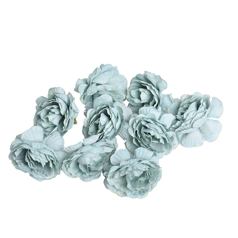 10pcs/lot Silk Roses Artificial Flowers For Wedding And Home Decorations 16