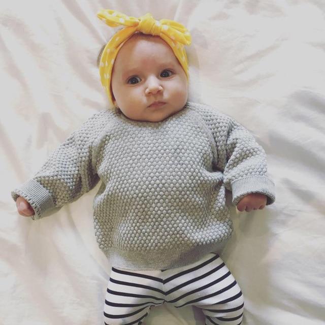 3Pcs Rabbit Ear Baby Headband For Girls Flower Neonata Baby Bows Turban Haarband Hair Accessories Newborn Infant Girl Headband 3