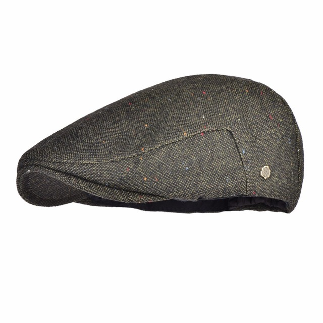 2be7fa698aa VOBOOM Warm Newsboy Caps Men Woolen Tweed Beret Gatsby Twill Driving Flat  Cabbie Hat Casual Beret Boina 184 189