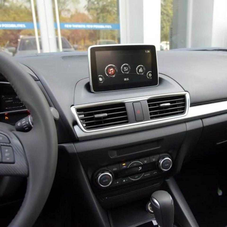 CCD ночное видение HD Задняя камера интерфейс NTSC PAL видео для Mazda 2 с 7 дюймовым OEM навигационной системой подключения