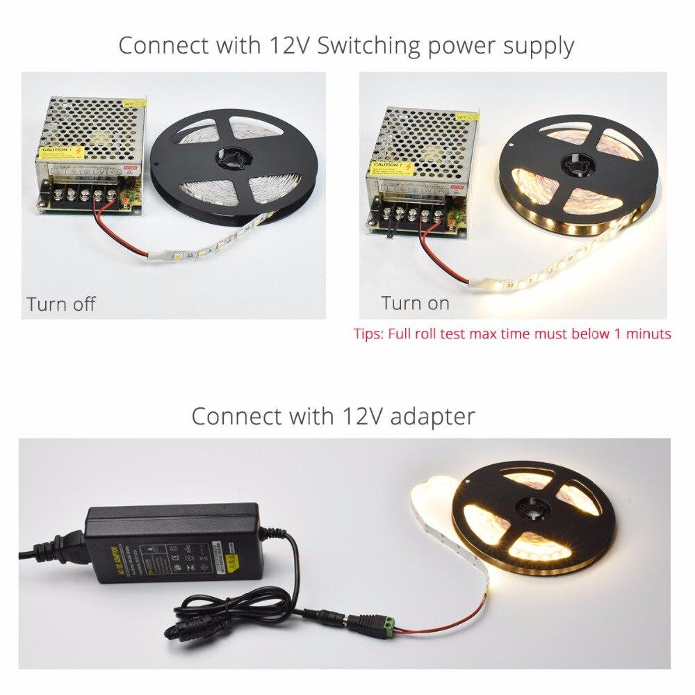 LED ՈՉ ջրամեկուսիչ ժապավեն SMD 5050 LED 5M DC12V - LED լուսավորություն - Լուսանկար 4