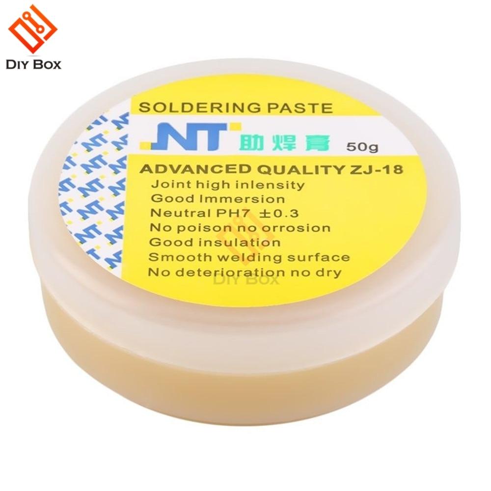 50g New Rosin Solder Soldering Paste Flux Grease Repair Mechanic No Clean Welding Tin Cream Solder Tools Repair Phone LCD PCB