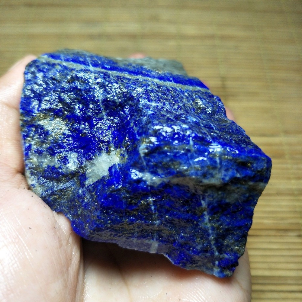 300g Natural Lapis Lazuli Stone Rough Stones Mineral Specimen For Jewelry Making Healing Crystals