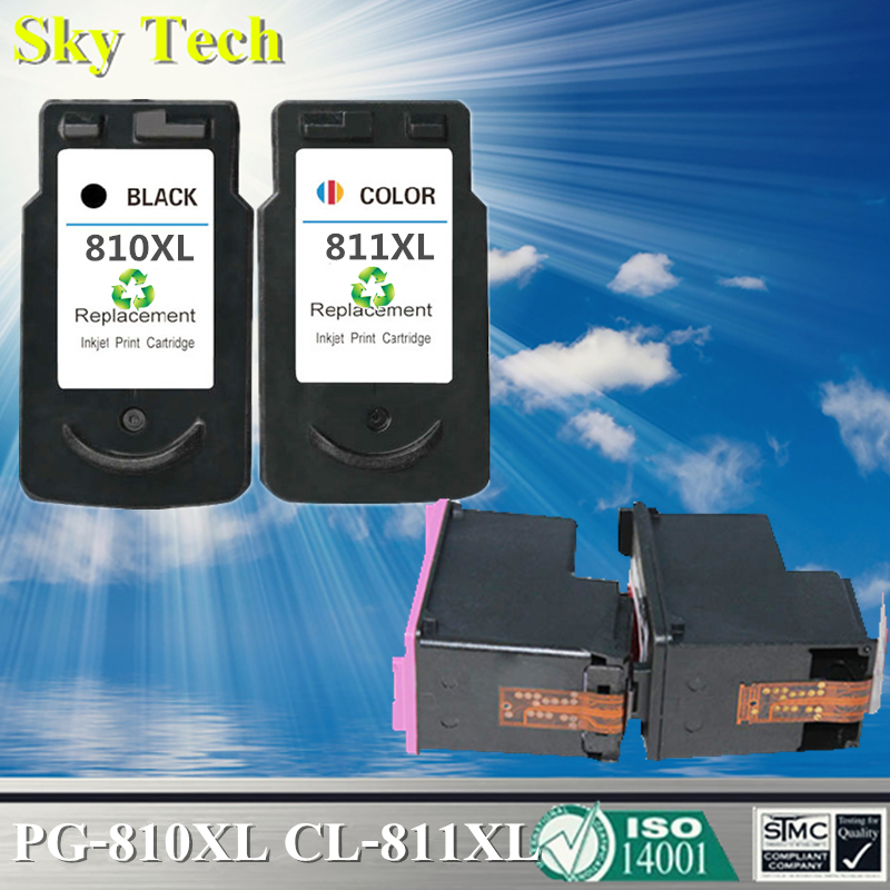 Quality inkjet Cartridge For PG-810XL CL-811XL PG810 CL811 , For Canon IP2770 MP245 MP258 MP268 MP276 MP486 MP496 MP328 MP338 image