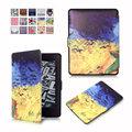 Ultrafino de La Cubierta para Paperwhite Amazon Kindle 2015 Caso de Cuero de la Capa 6 pulgadas Original 2 3 Nuevo 2014 Funda ebook Tablet accesorios