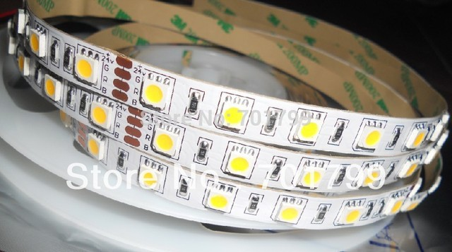 DC24V 5m(one roll) 5050 SMD 60LEDs/m led strip,non-waterproof, IP33
