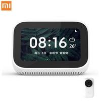 Original Xiaomi AI Touch Screen Bluetooth 5.0 Speaker Digital Display Alarm Clock WiFi Smart Connection Speaker Mi speaker