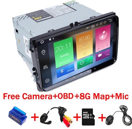 9 &#8220;Сенсорный экран Android 8,1 dvd-плеер автомобиля для Volkswagen <font><b>Golf</b></font> <font><b>5</b></font> 6 Passat CC B6 B7 поло Seat Leon MK5 MK6 Wi-Fi стерео радио