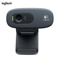 Logitech C270, 3 MP, 1280 x 720 pixels, 720p, USB 2.0, Black, Clip