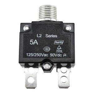 Image 4 - Sovraccarico termico Protector Interruttore di Pulsante Mini Interruttore Termico 5A/10A/15A/20A/30A
