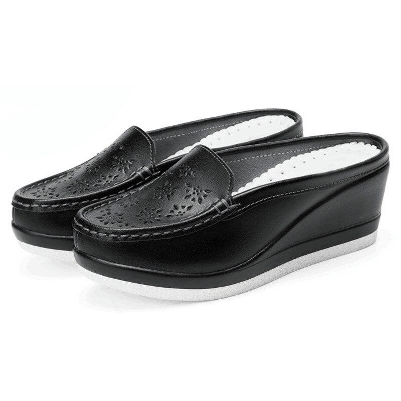 MVVJKE Summer Woman Shoes Platform Slippers Wedge Flip Flops Women High Heel Slippers For Women Casual sandals Female shoes