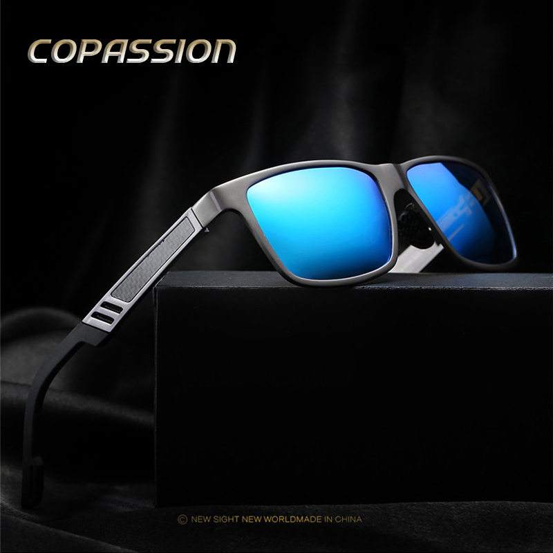 Aluminum Magnesiu Brand sunglasses men polarized sunglass Sports Driving glasses Outdoor Goggle Eyewear oculos de sol masculino