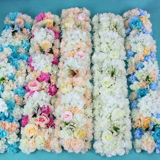 Wedding Backdrops T Stage Decor Long Table Centerpieces Flower Wedding Road  Lead Flowers Arch Door