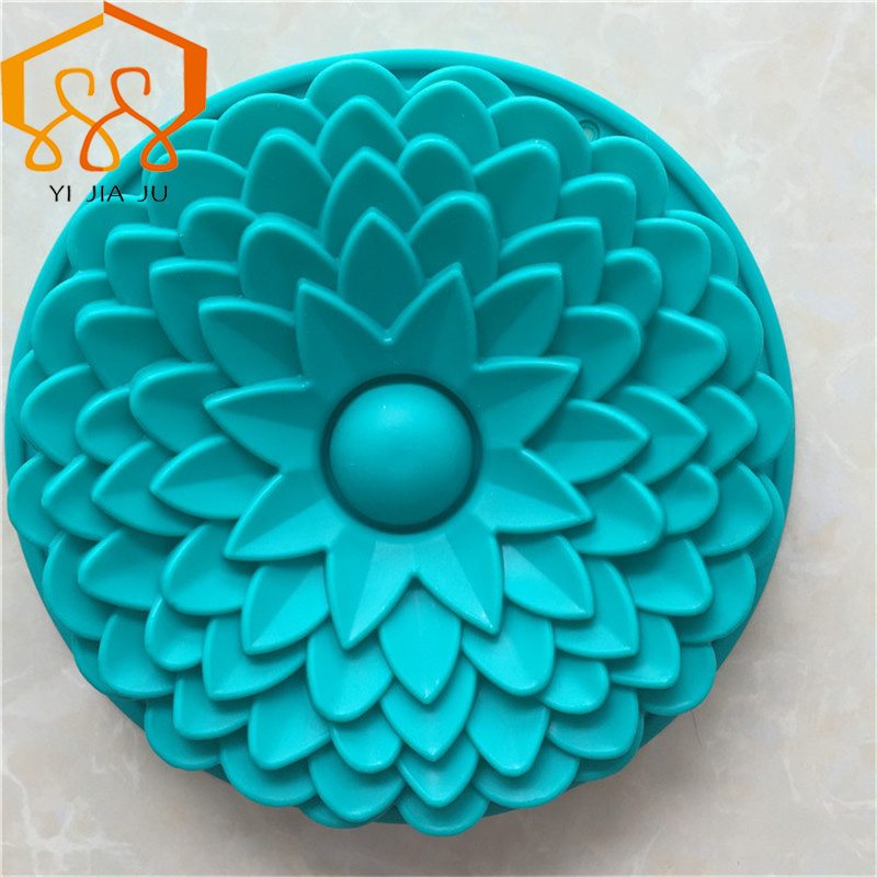 Moule à gâteaux de cuisine bricolage   Grande dimension fleurs, outils de cuisson pour gâteaux, accessoires de boulangerie, moule de cuisson, offre spéciale