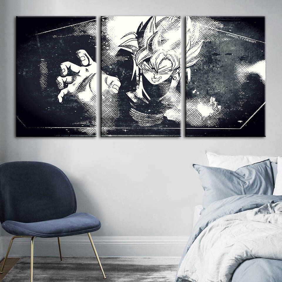 HD طباعة اللوحة المنزل الديكور لعبة دراغون بول دور قماش المشارك الكرتون وحدات الصور الحديثة ل غرفة المعيشة إطار يعلق على الحائط الفن