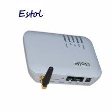 الأصلي DBL GOIP 1 رقاقة منفذ النظام العالمي للاتصالات بالهواتف الجوالة (IMEI التغيير ، 1 بطاقة SIM ، SIP & H.323 ، VPN PPTP).SMS جي إس إم بوابة VOIP تعزيز